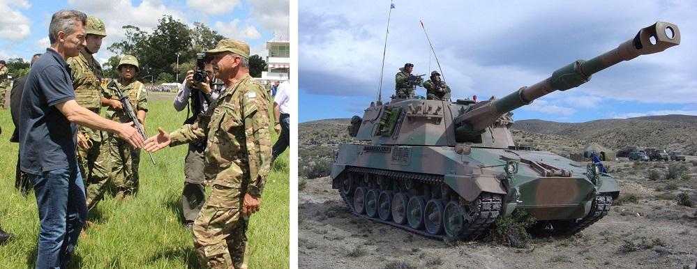 Tanques cazas y misiles el ej rcito argentino se for Mundo del espectaculo argentino