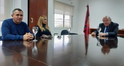 Abel Cornejo con familiares de Peñalva