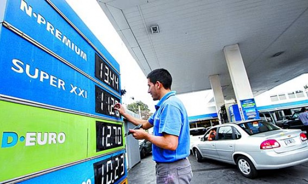 nafta precios
