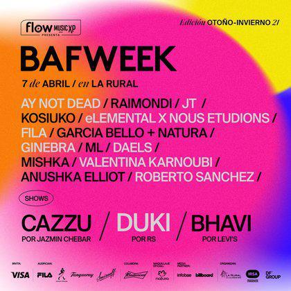 Bafweek 2021- Flow