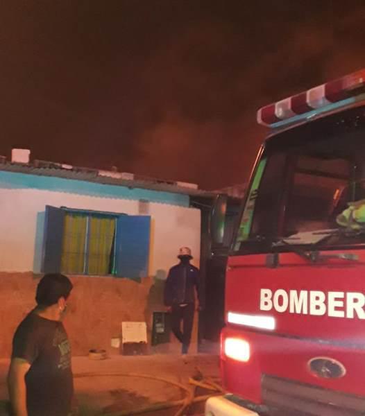 Por una vela encendida se incendió una vivienda en zona Norte