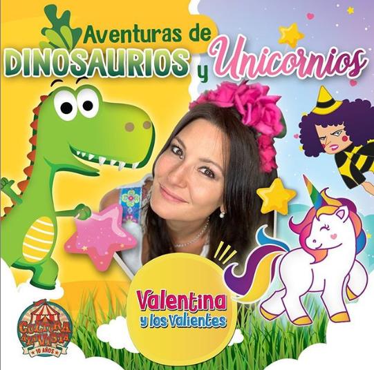 Disfruta De Aventuras De Dinosaurios Y Unicornios De Valentina Y Los Valientes O estoy igual de muerto que los dinosaurios o me volví loco y estoy en un mundo feliz jejeej. de valentina y los valientes