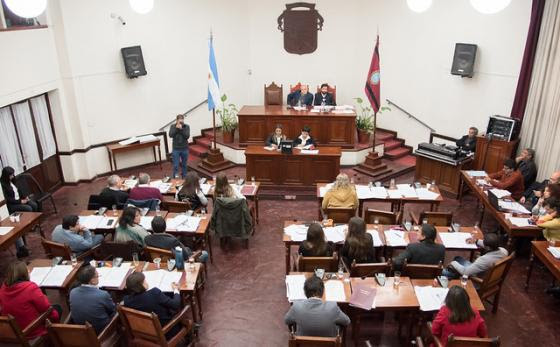 concejo deliberante - sesion junjio