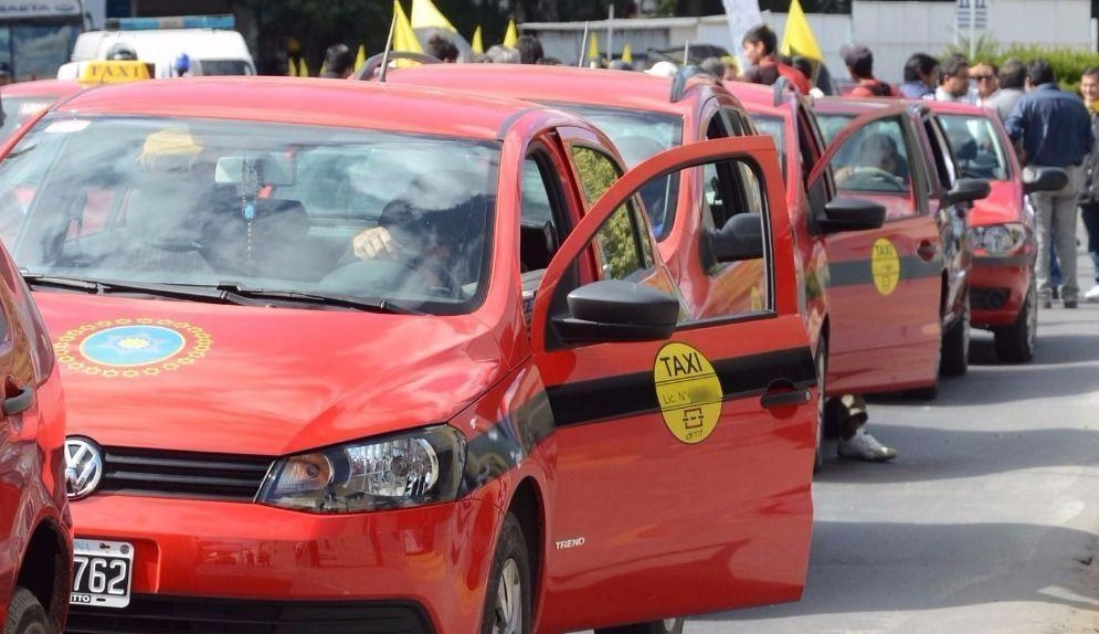 marcha contra Uber