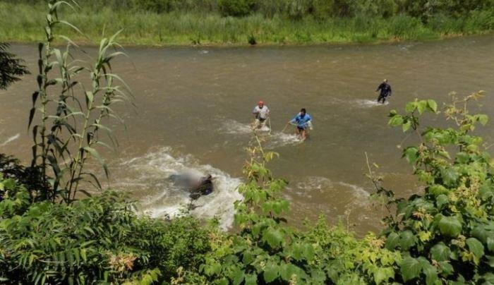 rescate cuerpo rio juramento