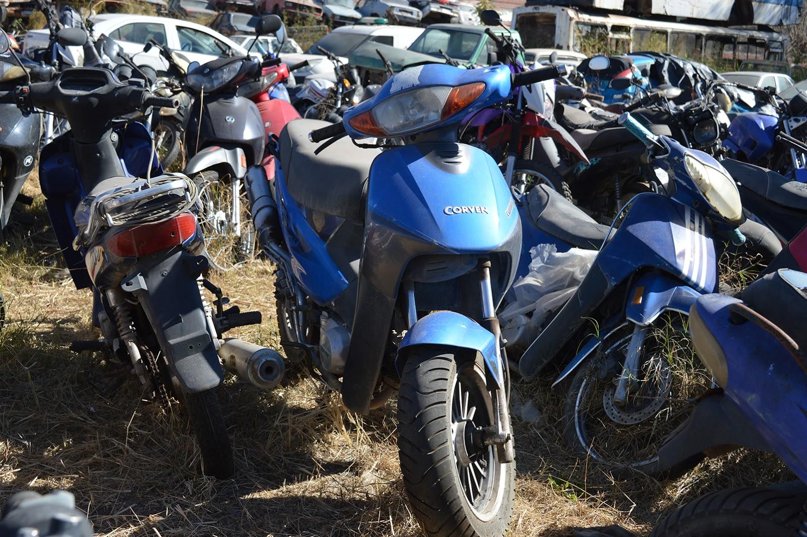 remate de motos de la Municipalidad
