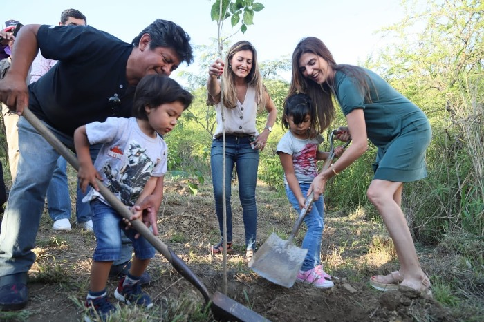 bettina romero reforestacion san bernardo