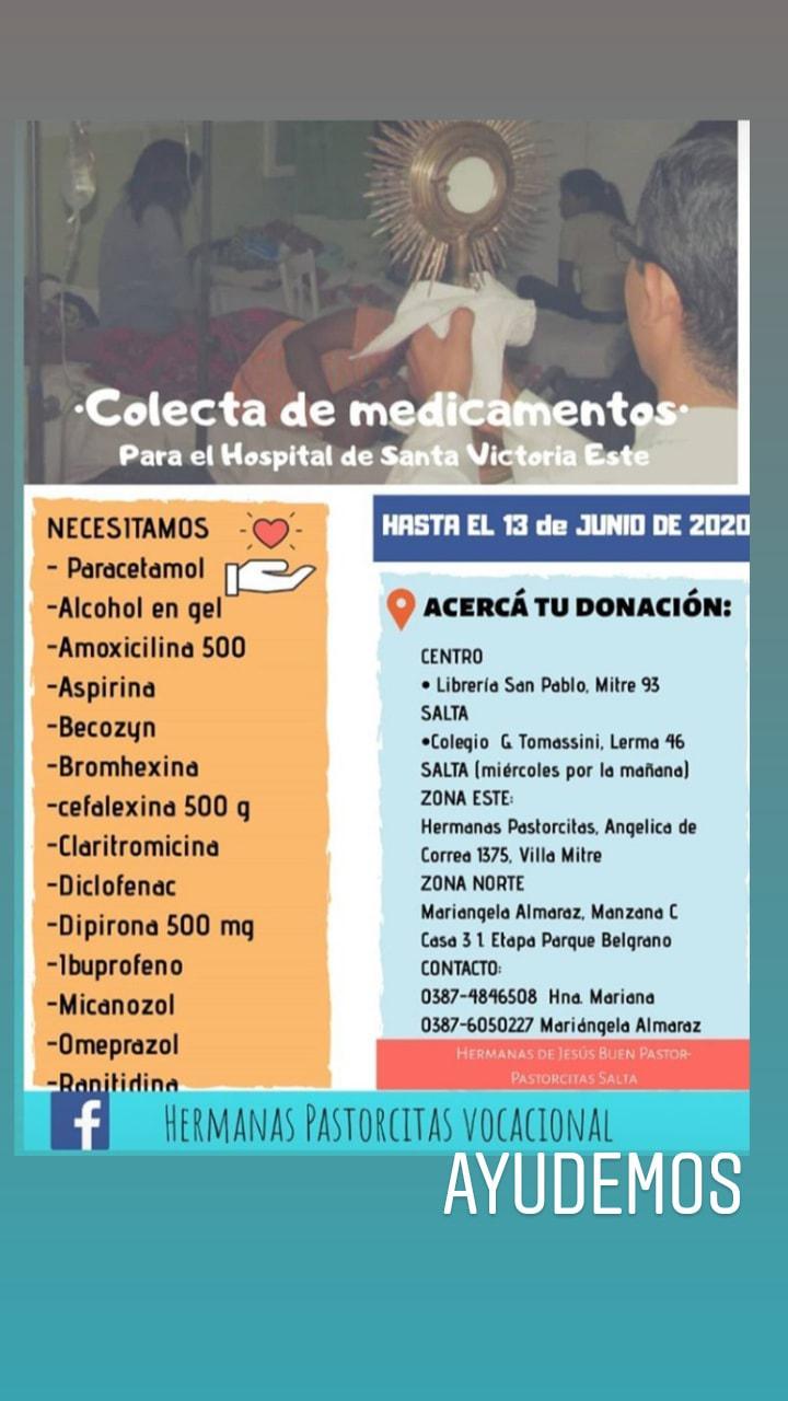campaña medicamentos