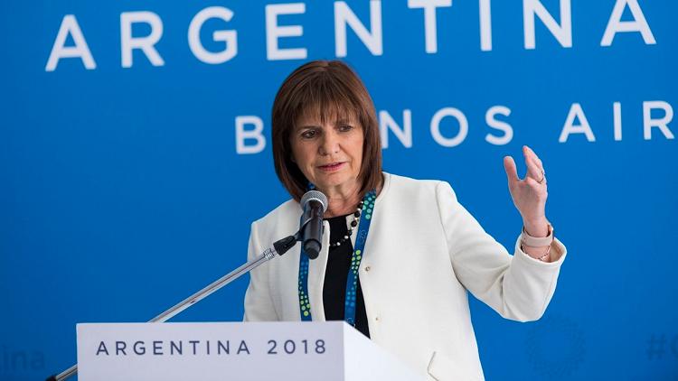 Patricia Bullrich Cumbre G20