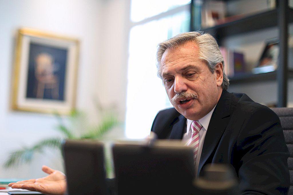 Alberto Fernández dialogará con gobernadores por videoconferencia