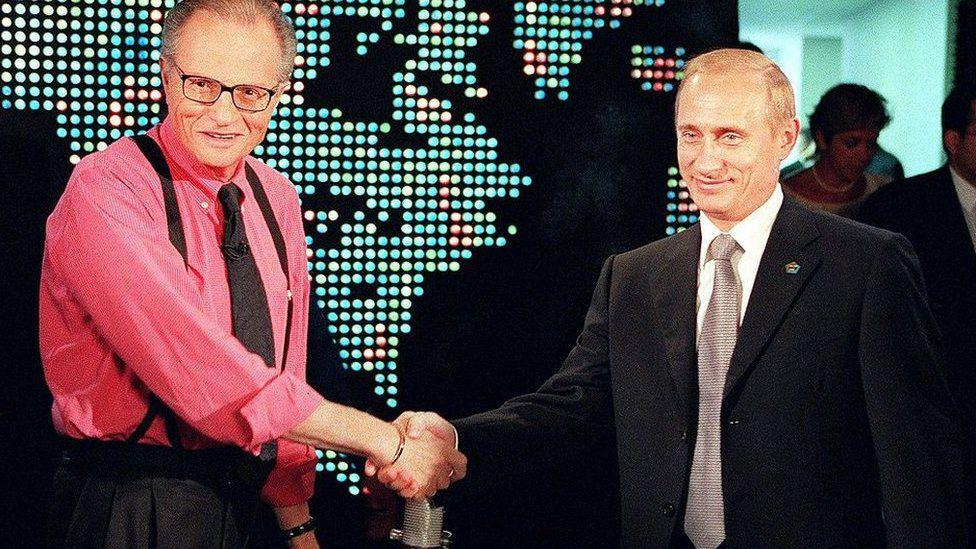 Larry King con Putin