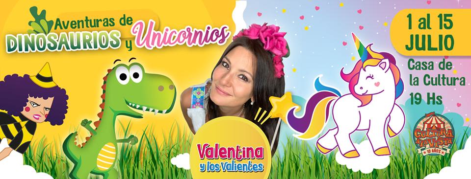 Valentina y los valientes - cultura a la vista