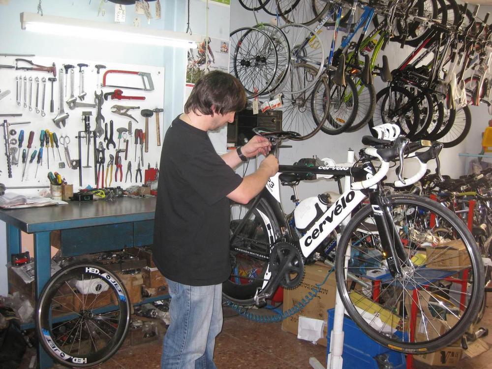 taller de bicis