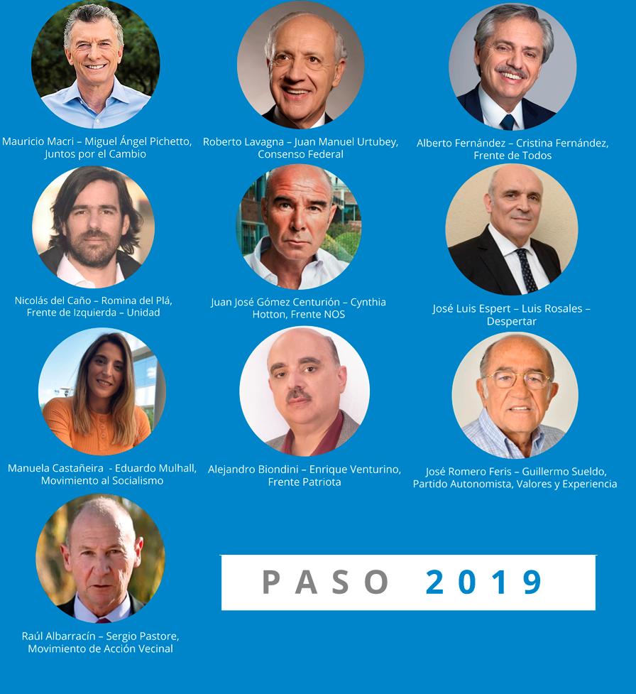 presidentes 2019