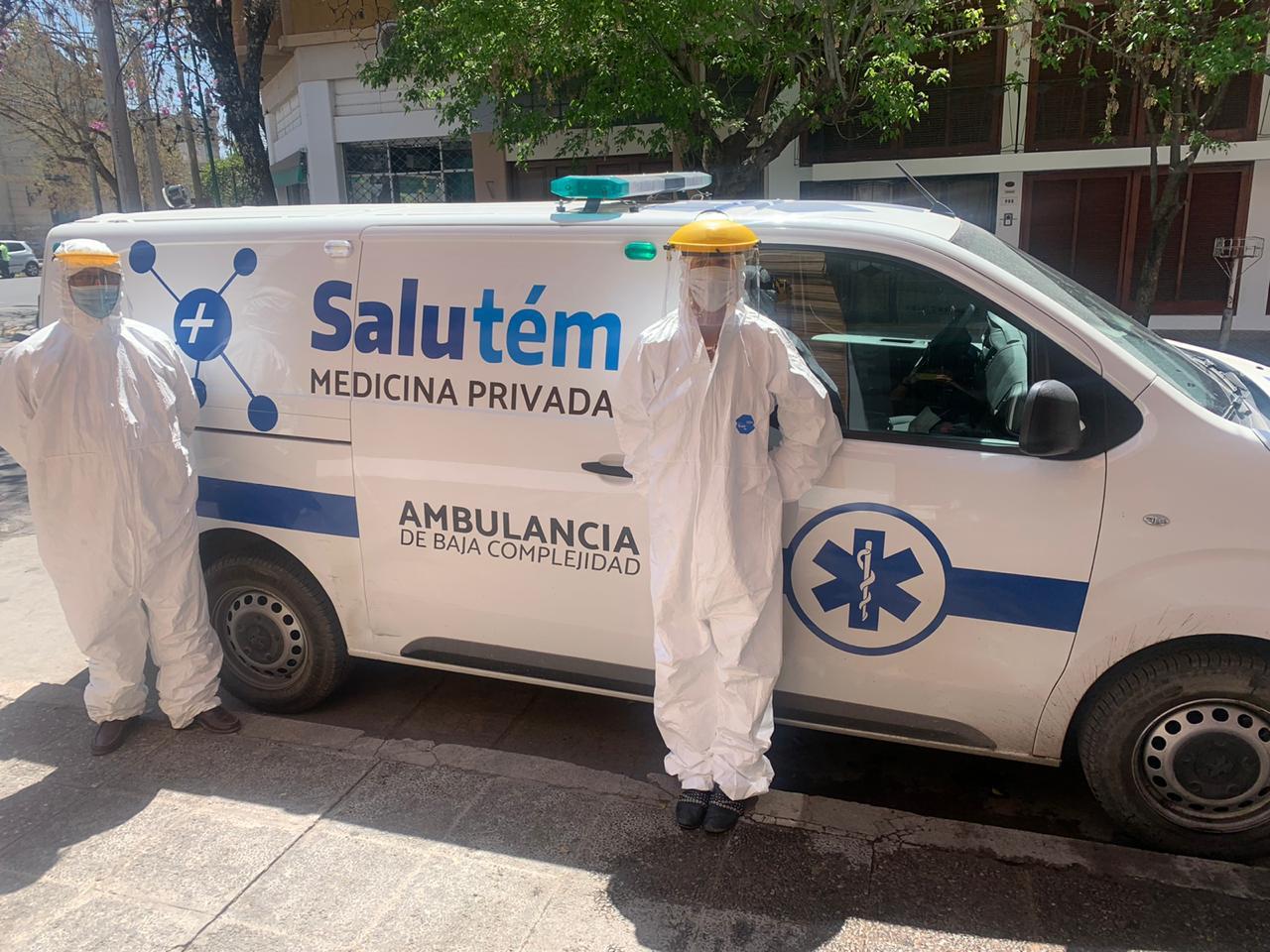 ambulancia salutem
