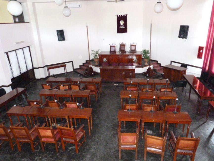 sin sesión del Concejo Deliberante