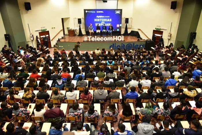 """Más de 400 jóvenes salteños participaron del ciclo """"Historias que Inspiran"""" de Telecom"""