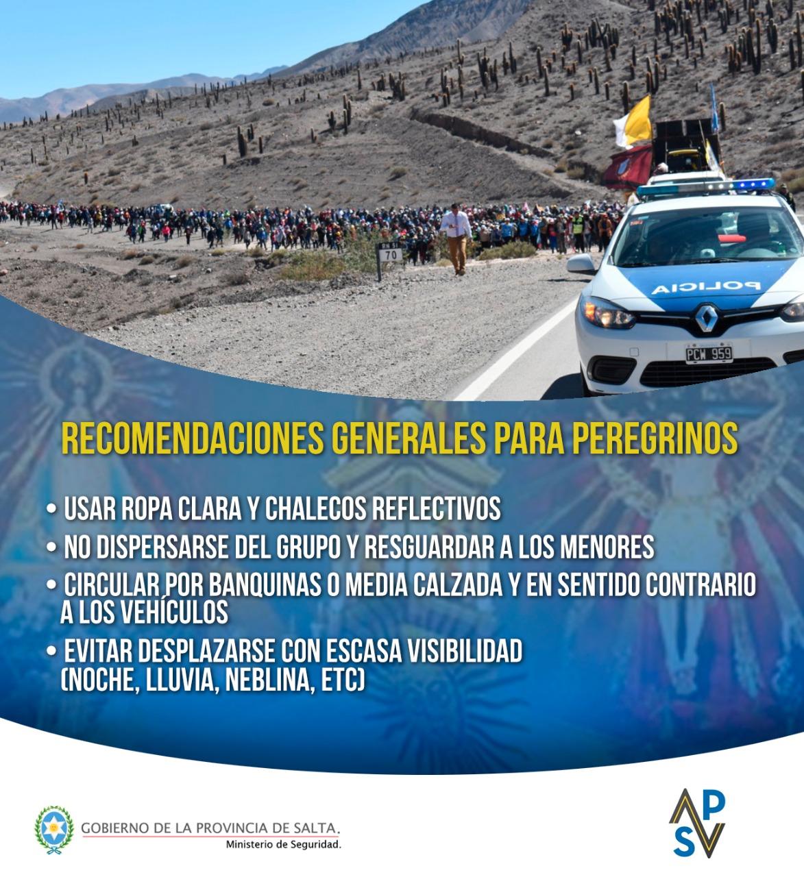 peregrinos recomendaciones agencia vial