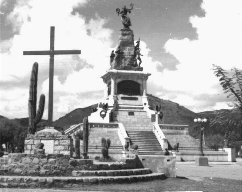 batalla de salta monumento juan wayar 1950