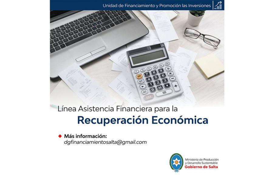 Línea de asistencia financiera