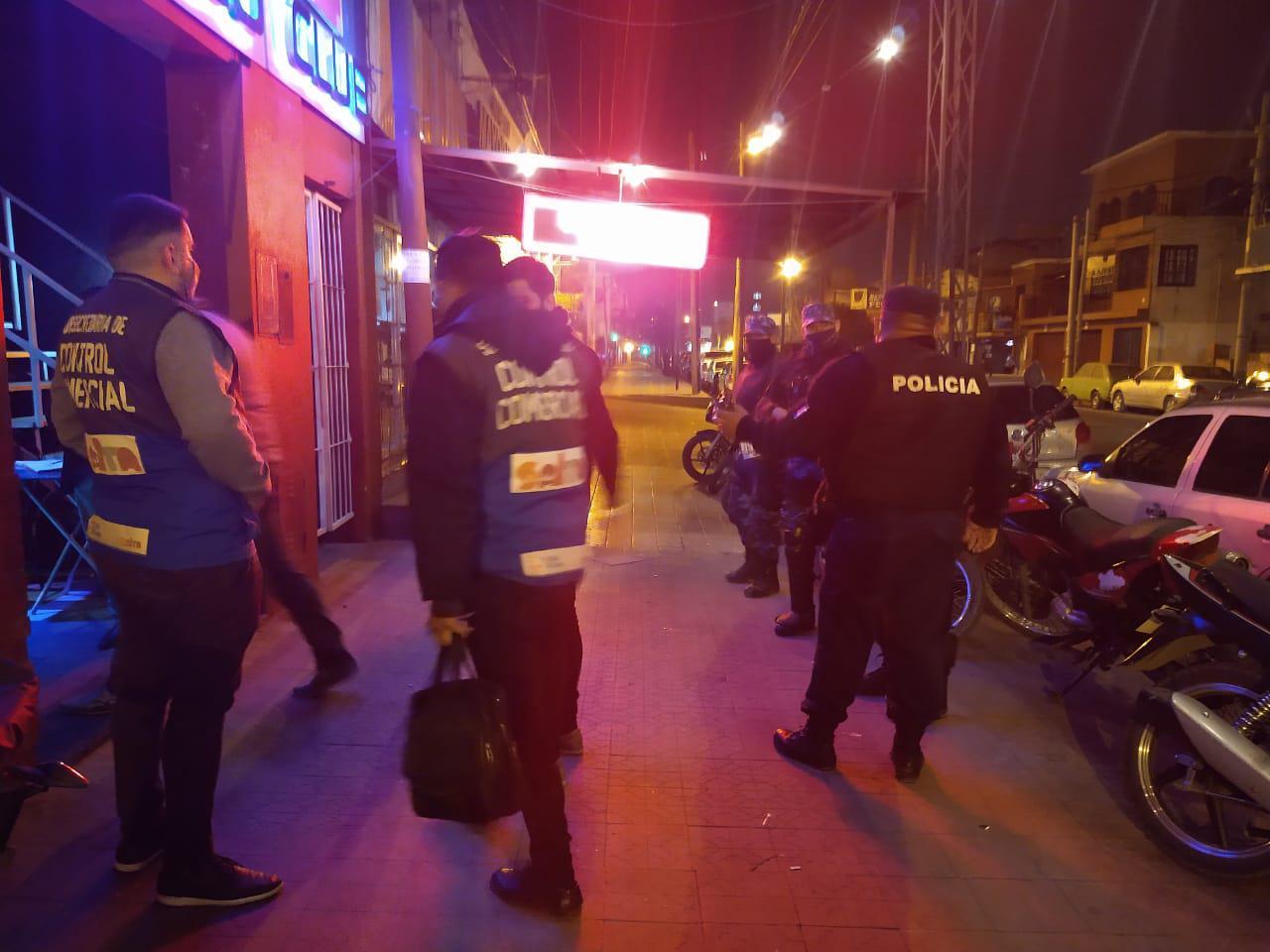 controles policia restriccion operativo