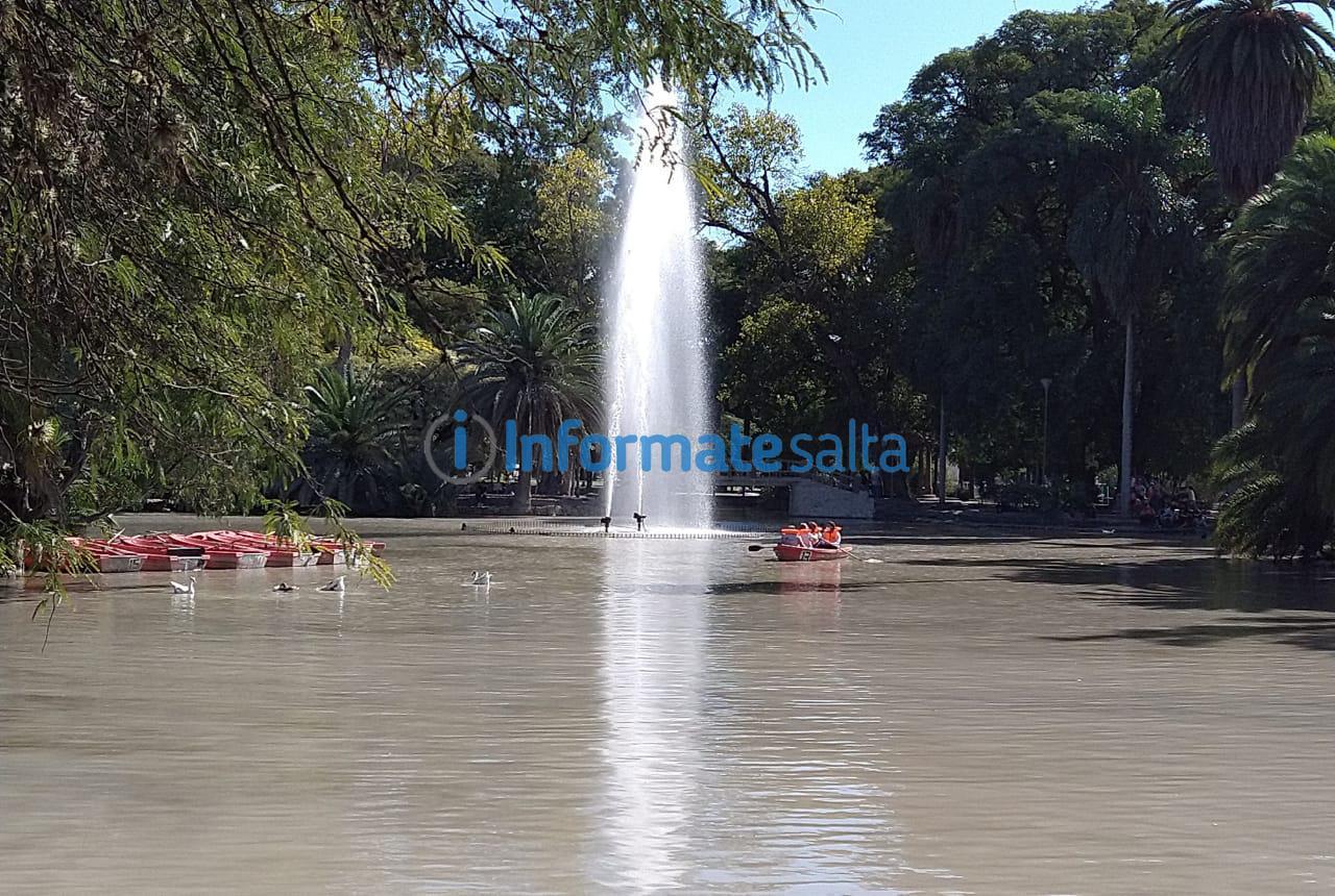 lago del Parque San Martín4