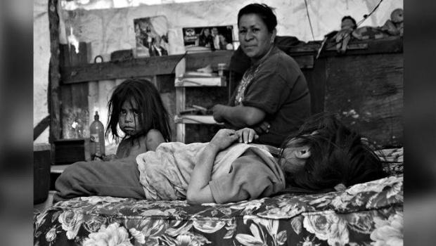 Más de medio millón de chicos vive en la pobreza