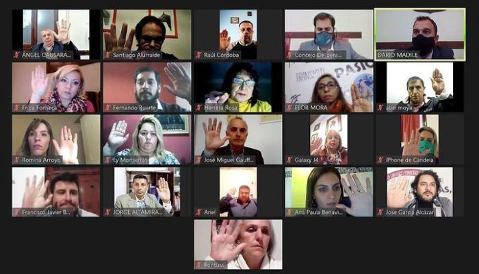 concejo deliberante  salta - sesion virtual