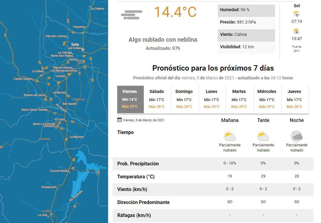 clima viernes 05
