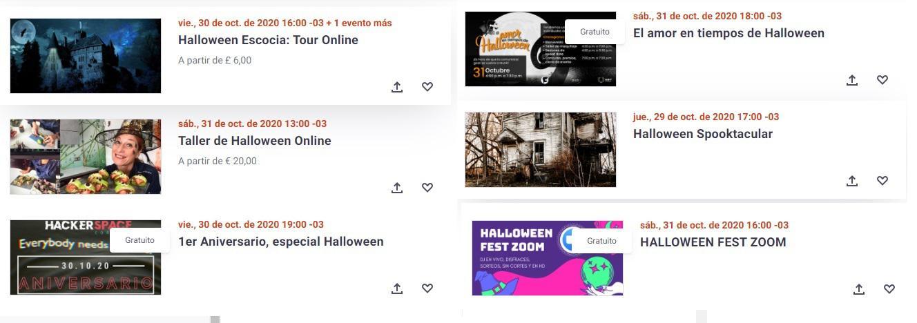 Halloween zoom