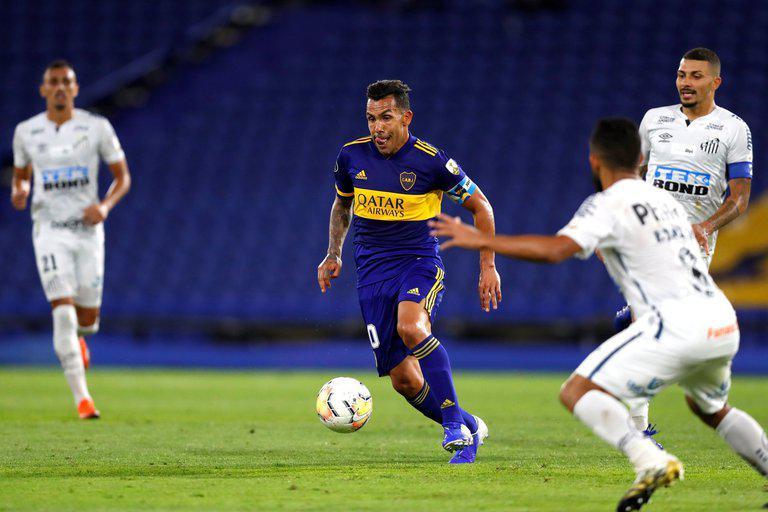 Boca cayó 3-0 ante Santos y quedó eliminado de la Copa Libertadores