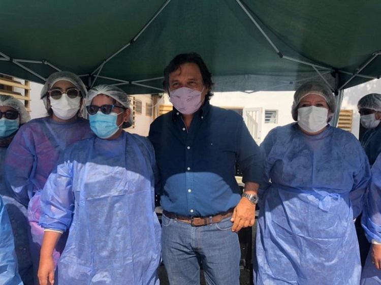 Sáenz - campaña de vacunación