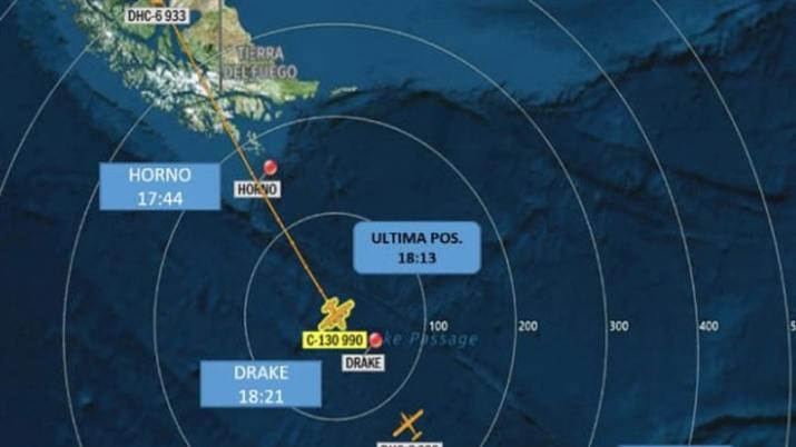 Avión de la Fuerza Aérea Chilena perdió contacto cuando viajaba a la Antártida