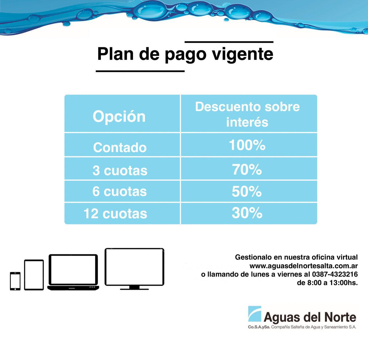 Flyer Plan de pago