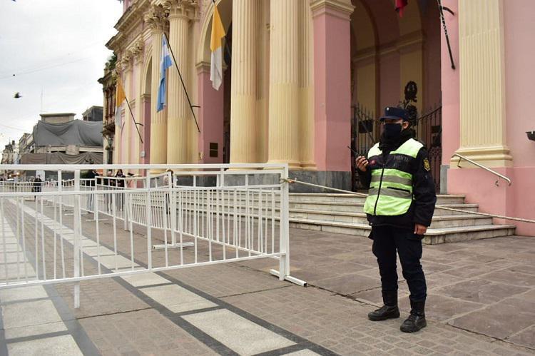 Operativo de seguridad - El Milagro en Salta