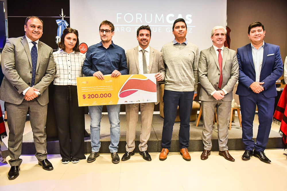 Premiaron a los arquitectos ganadores del proyecto de ampliación del Teleférico (1)