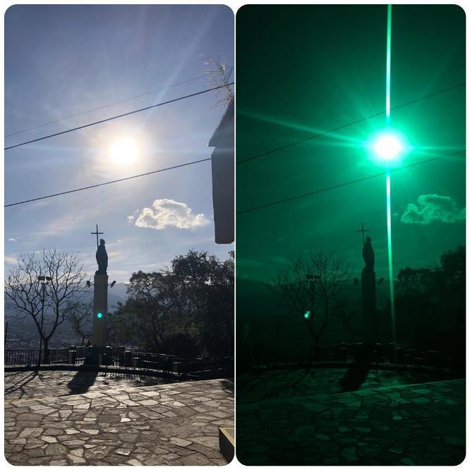 foto cerro eclipse filtro