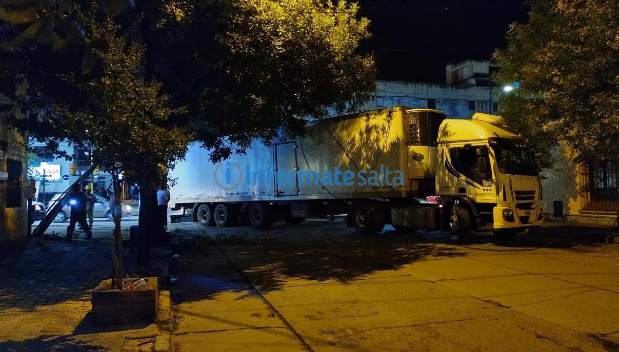 camion atorado 1