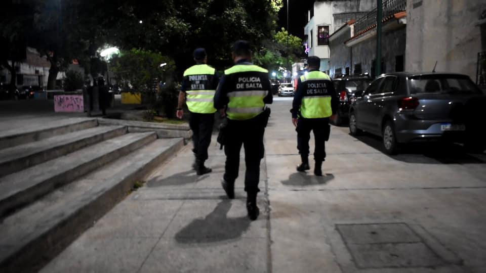 policia controles operativos control restriccion restricciones
