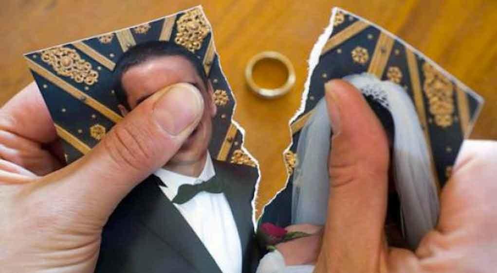 divorcio de pareja de 4 meses de matrimonio