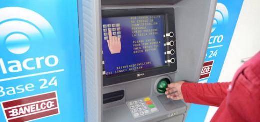 cajero banco macro