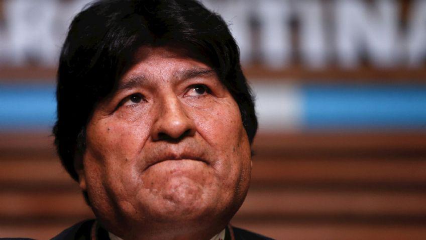 """Para Evo Morales es """"ilegal"""" la acusación en su contra por presunto terrorismo"""