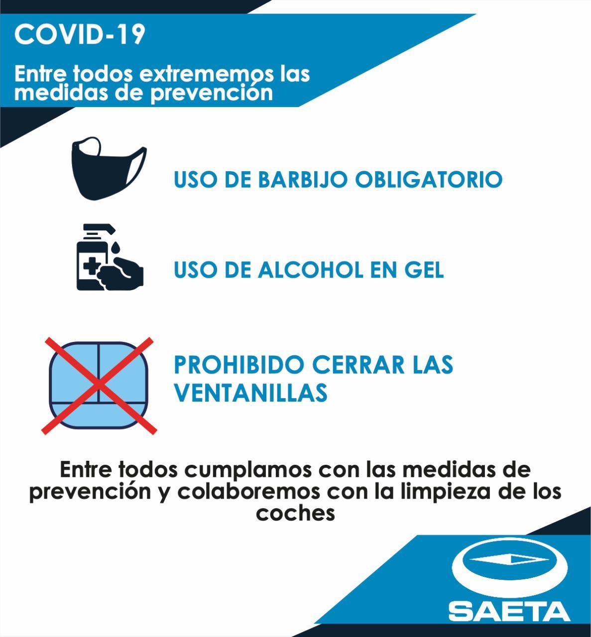 Medidas de Prevención SAETA