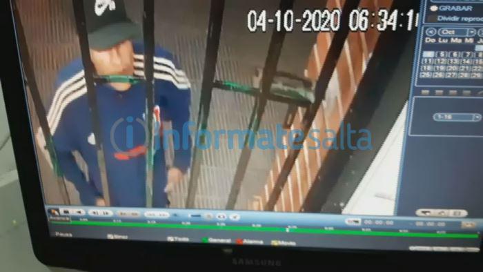 robo drugstore - ladron tomado