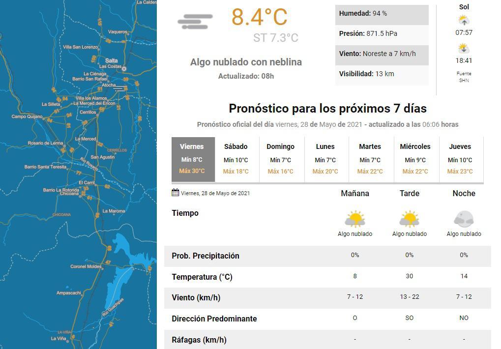 clima viernes 28 3
