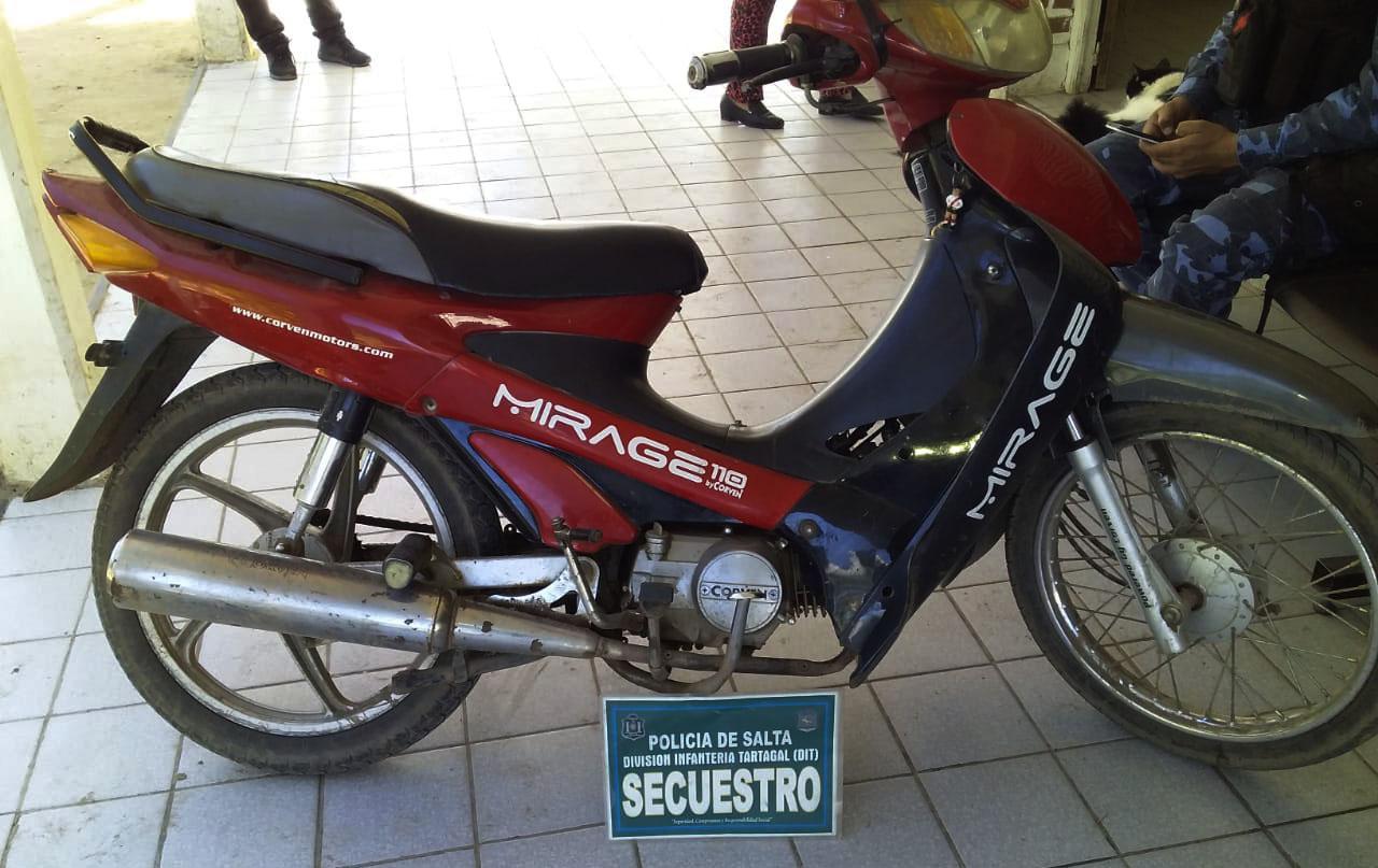 Recuperaron motos robadas 03