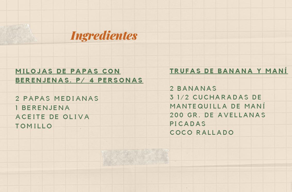 ingredientes - receta milojas trufas