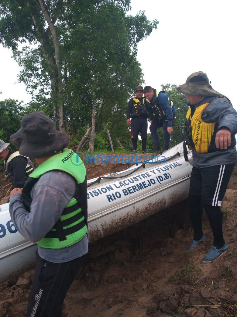 busqueda en el río Bermejo3
