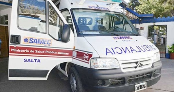 ambulancia - samec - pichanal
