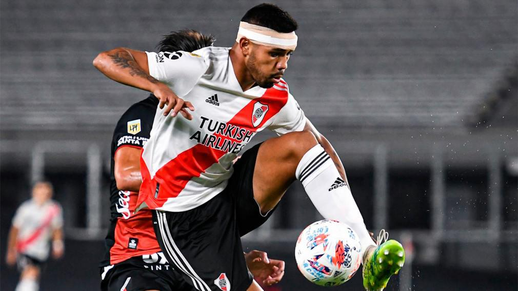 Malas noticias en River: Martínez está desgarrado y se pierde el partido con Arsenal